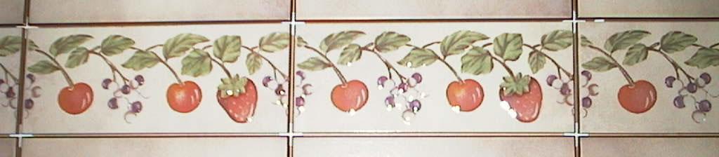 Toledo Border Ceramic Tile 3 x 8 by Recer