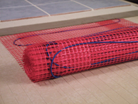 Radiant Underfloor Heating 120 V Complete system by Tyco Raychem