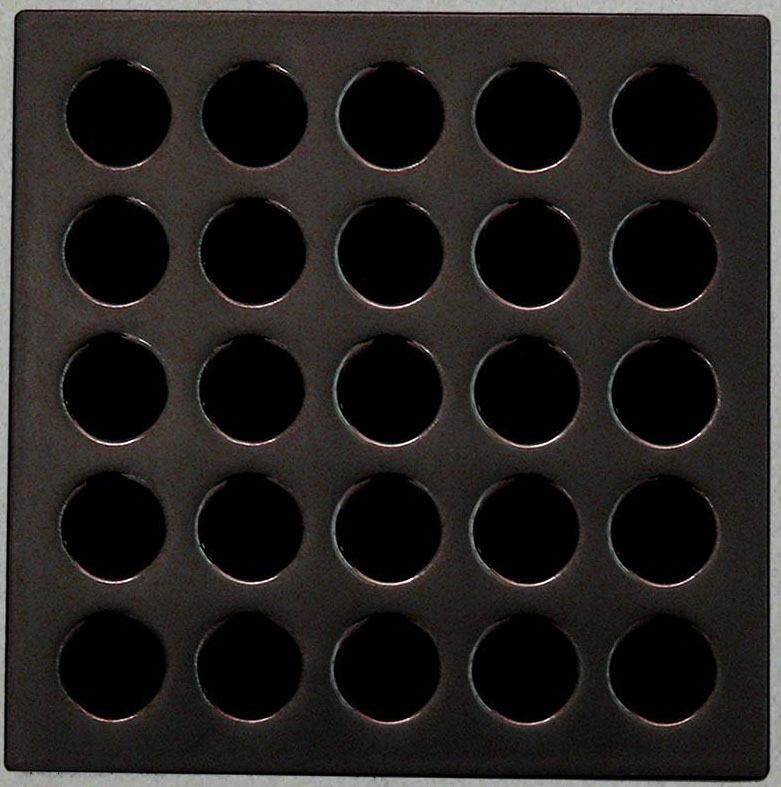 Waterproofing shower kit Drain Grate Cover color Oil Rubbed Bronze E4407