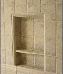 Recess-It Shower Recess Shelf REC 1414 13 x 13 Inch