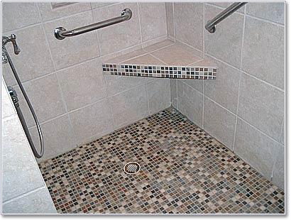 Corner Shower Bench BB-24 by Innovis Corp.